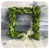Preserved Square Boxwood Wreath