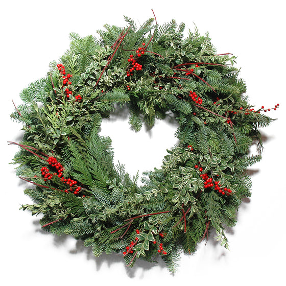 Berries and Branches Wreath