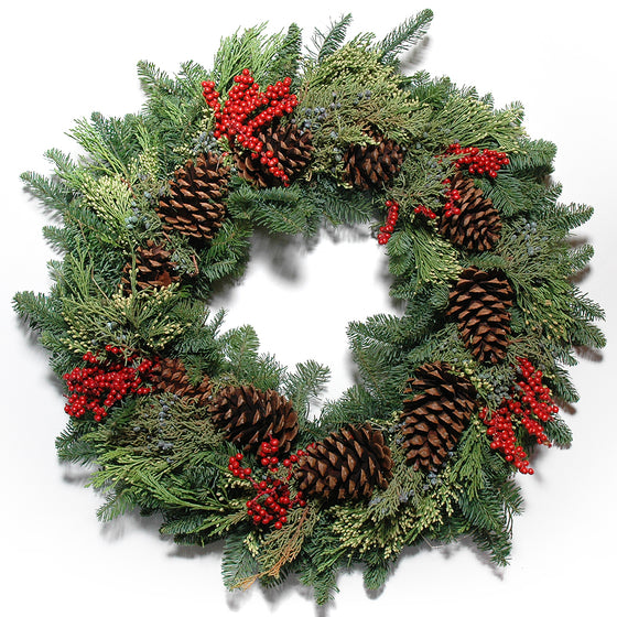 Canella Multicone Wreath