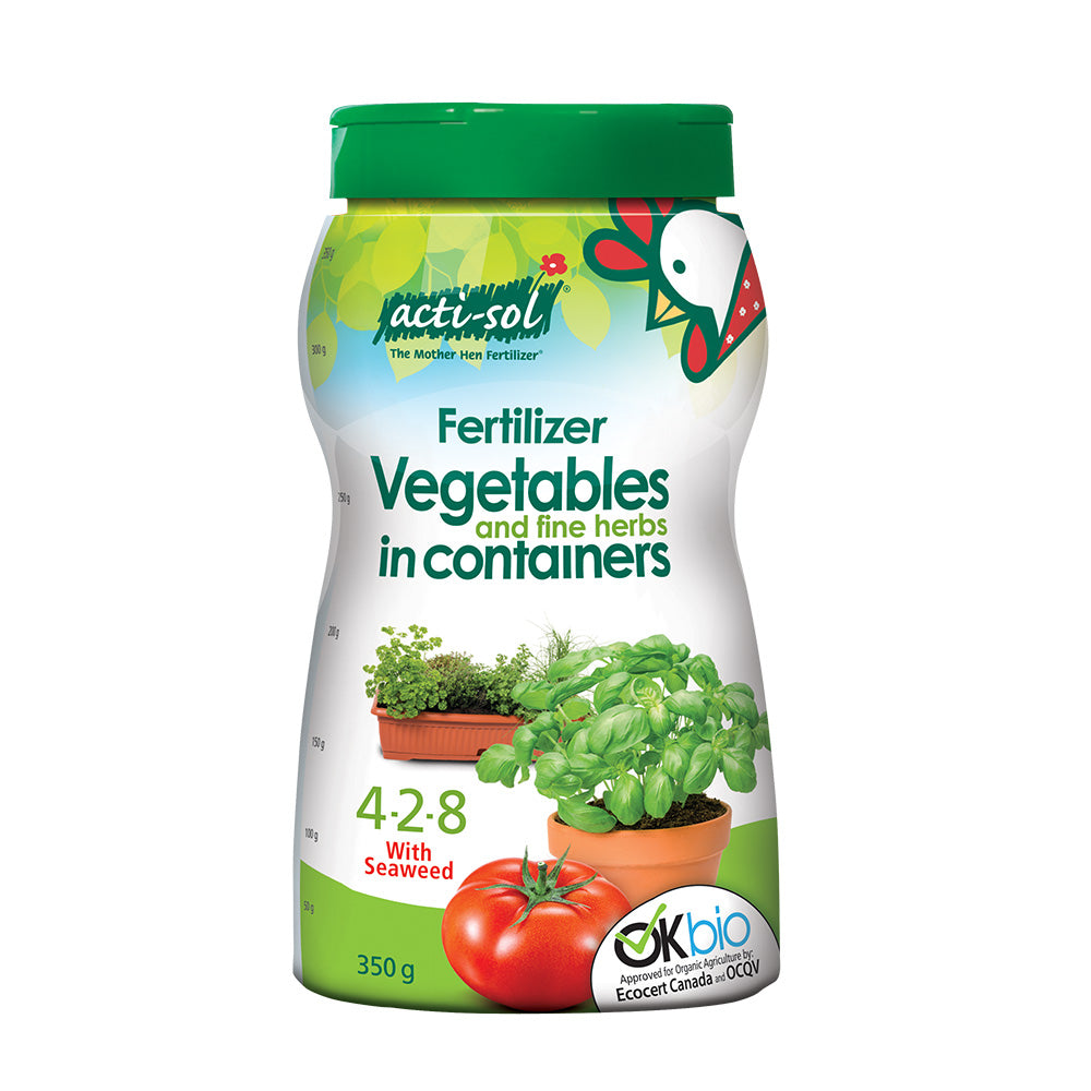 Actisol Sprinkleon Organic Fertilizer for Vegetables and Fine Herbs