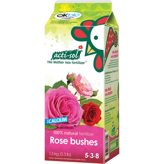 Actisol Rose Bushes Organic Fertilizer 5-3-8