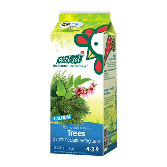Actisol Trees, Shrubs, Hedges and Evergreens Organic Fertilizer 4-3-9
