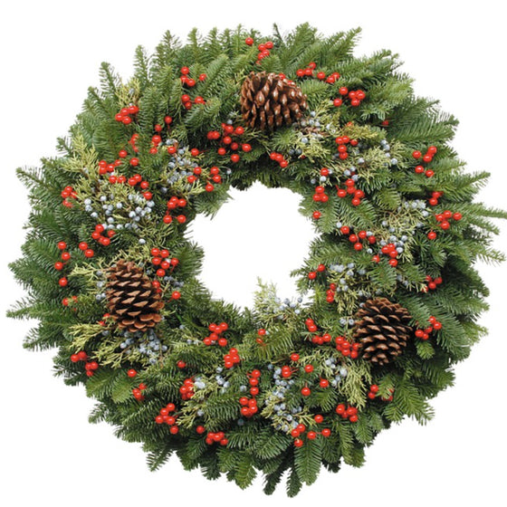 Berry Christmas Wreath