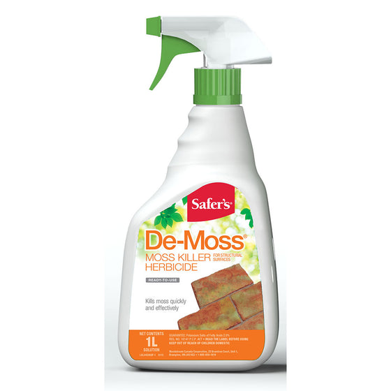 Safer's De-Moss Moss Killer