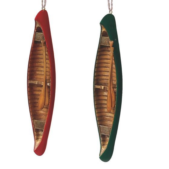 Canoe Christmas Ornament