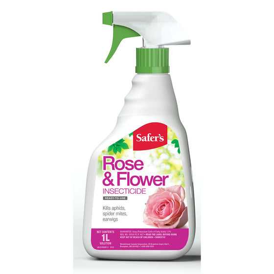 Safer's Rose & Flower Insecticide