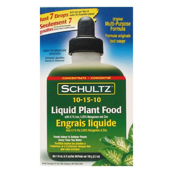 Schultz All-Purpose Liquid Plant Food 10-15-10