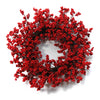 Red small cranberry wreath