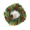 Fir and Cones Wreath