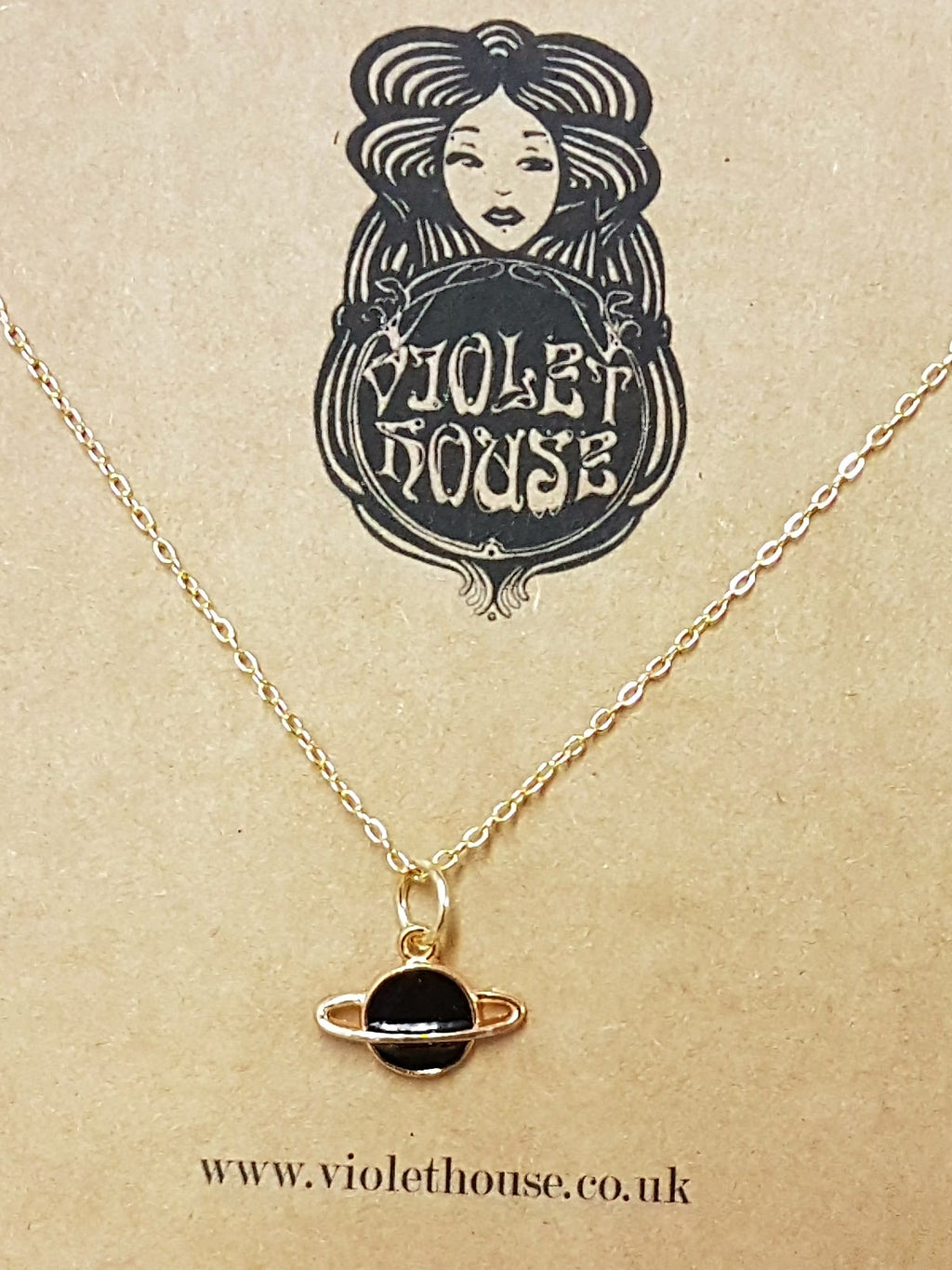 Planet necklace - Violet House