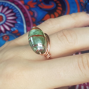Copper Humbug Ring, - Violet House