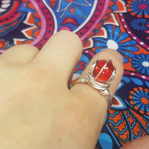 Red Rum Ring, - Violet House