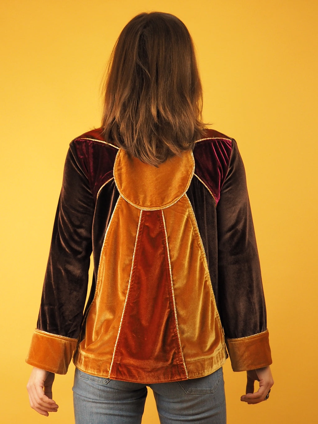 The Velvet Sunburst Jacket - Violet House