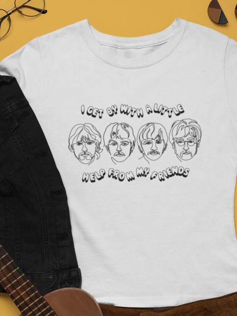 The Beatles T-shirt - Violet House
