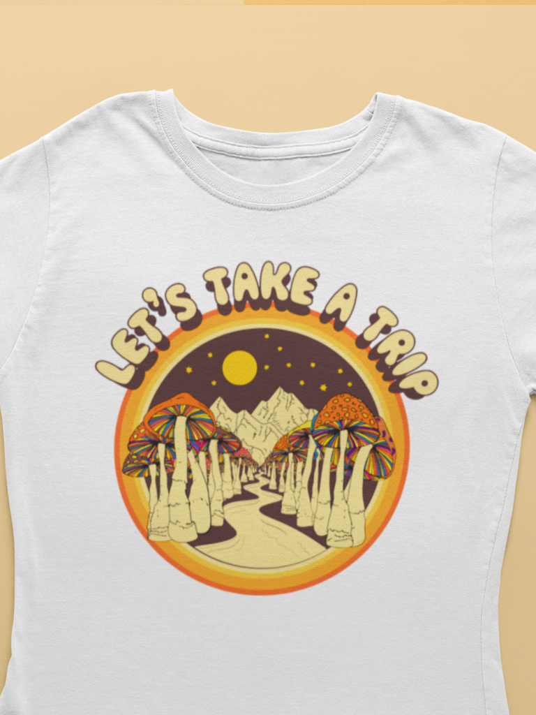 Let's take a trip t-shirt - Violet House