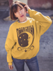 Unisex Moonchild Sweatshirt Gold