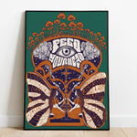 White Rabbit Jefferson Airplane Art Print