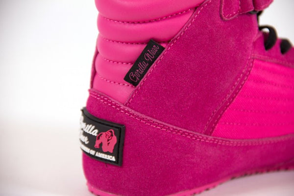 Gorilla Wear - Weight Lifting Shoes - High Tops - Pink