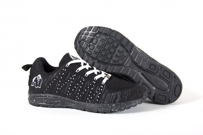 Gorilla Wear - Brooklyn Knitted Sneakers - Black/White