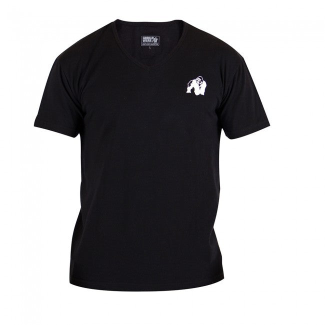 Gorilla Wear Essential V-Neck T-Shirt - Black