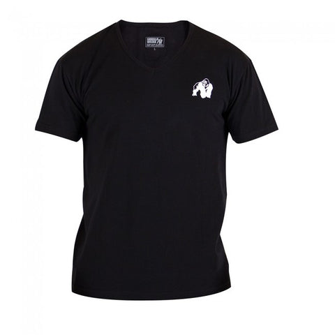 Gorilla Wear - Essential V-Neck T-Shirt - Black