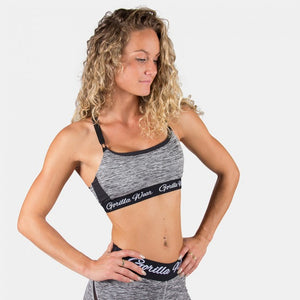 Gorilla Wear - Aurora Sports Bra - Mixed Gray
