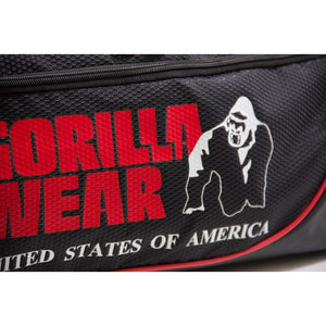 Gorilla Wear - Jerome Gym Bag - Black/Red