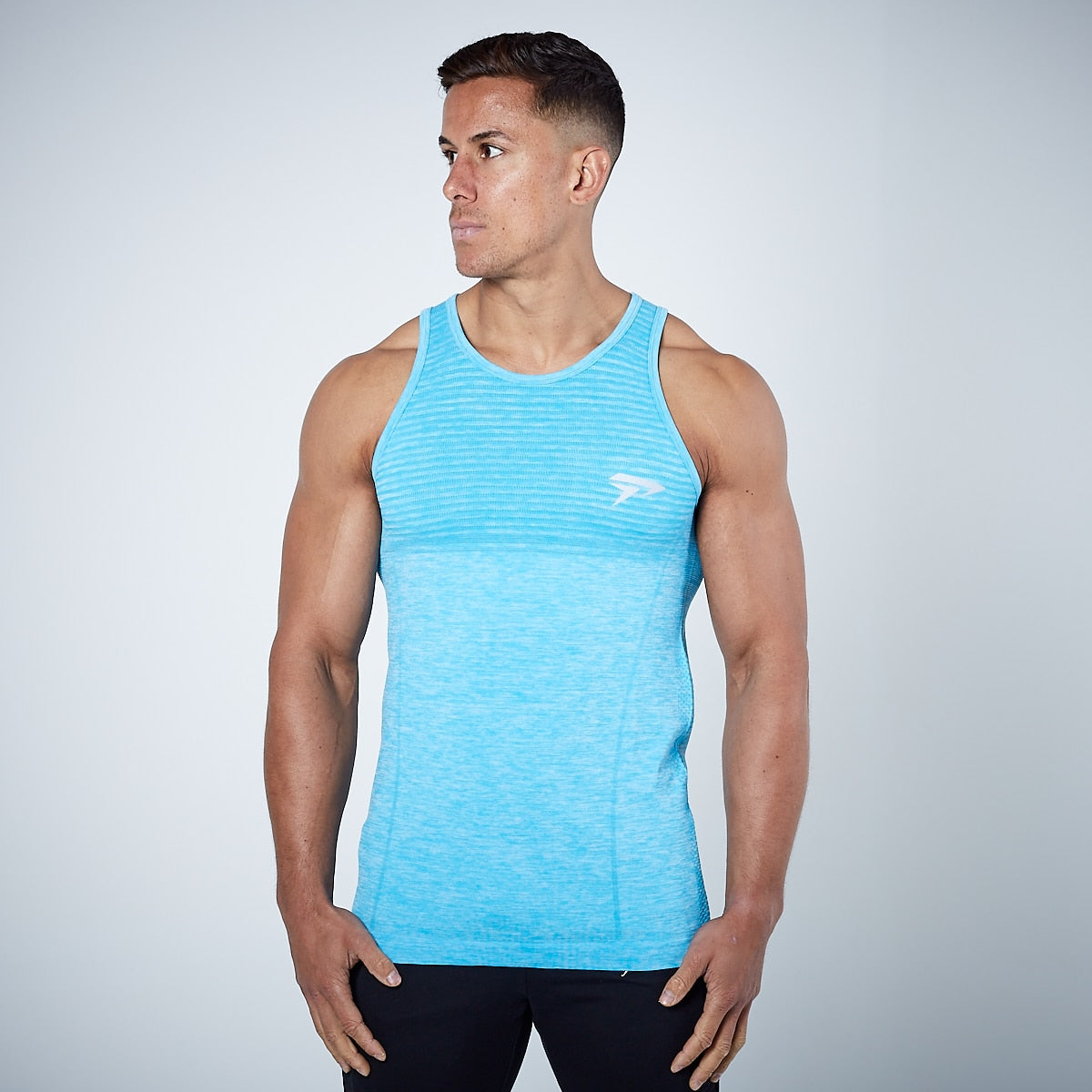 Physiq Apparel - HyperKnit Tank Top - Aqua