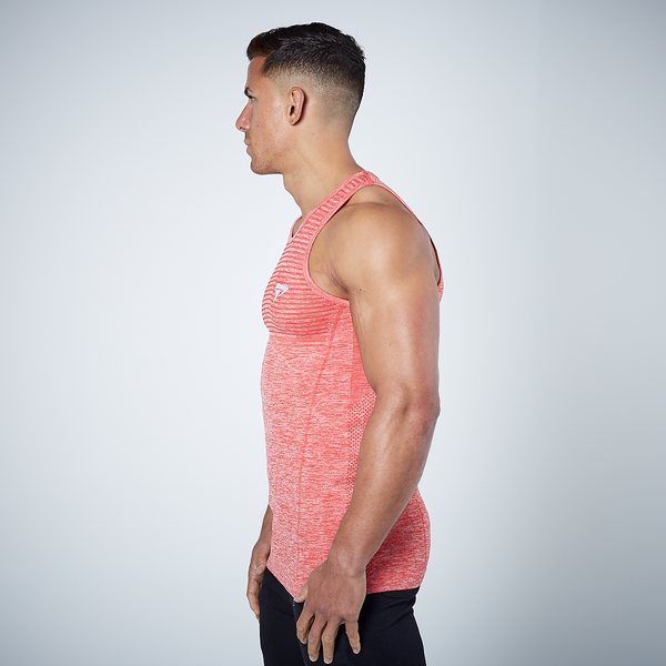 Physiq Apparel - HyperKnit Tank Top - Crimson Red