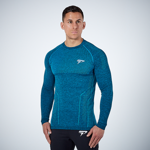 Physiq Apparel - HyperKnit 2.0 Long Sleeve Shirt - Electro Green