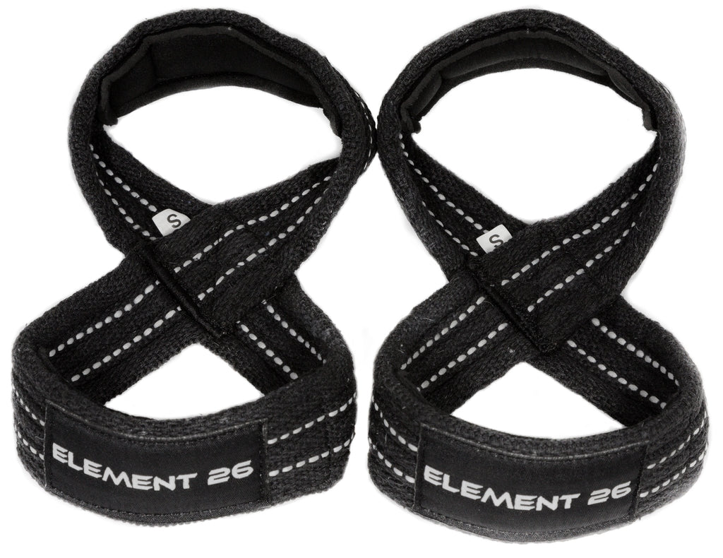 Element 26 Brand - Padded Figure-8 Weightlifting Straps