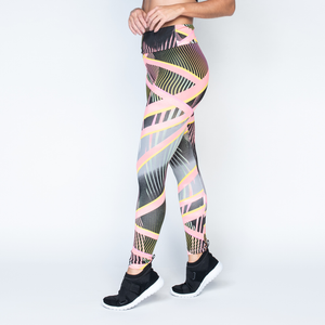Women's Brazilian-Style Graphic Print Leggings #LG1049