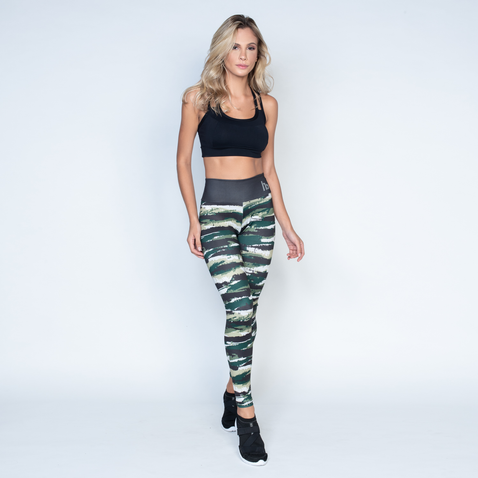 Women's Brazilian-Style Graphic Print Leggings #LG1068