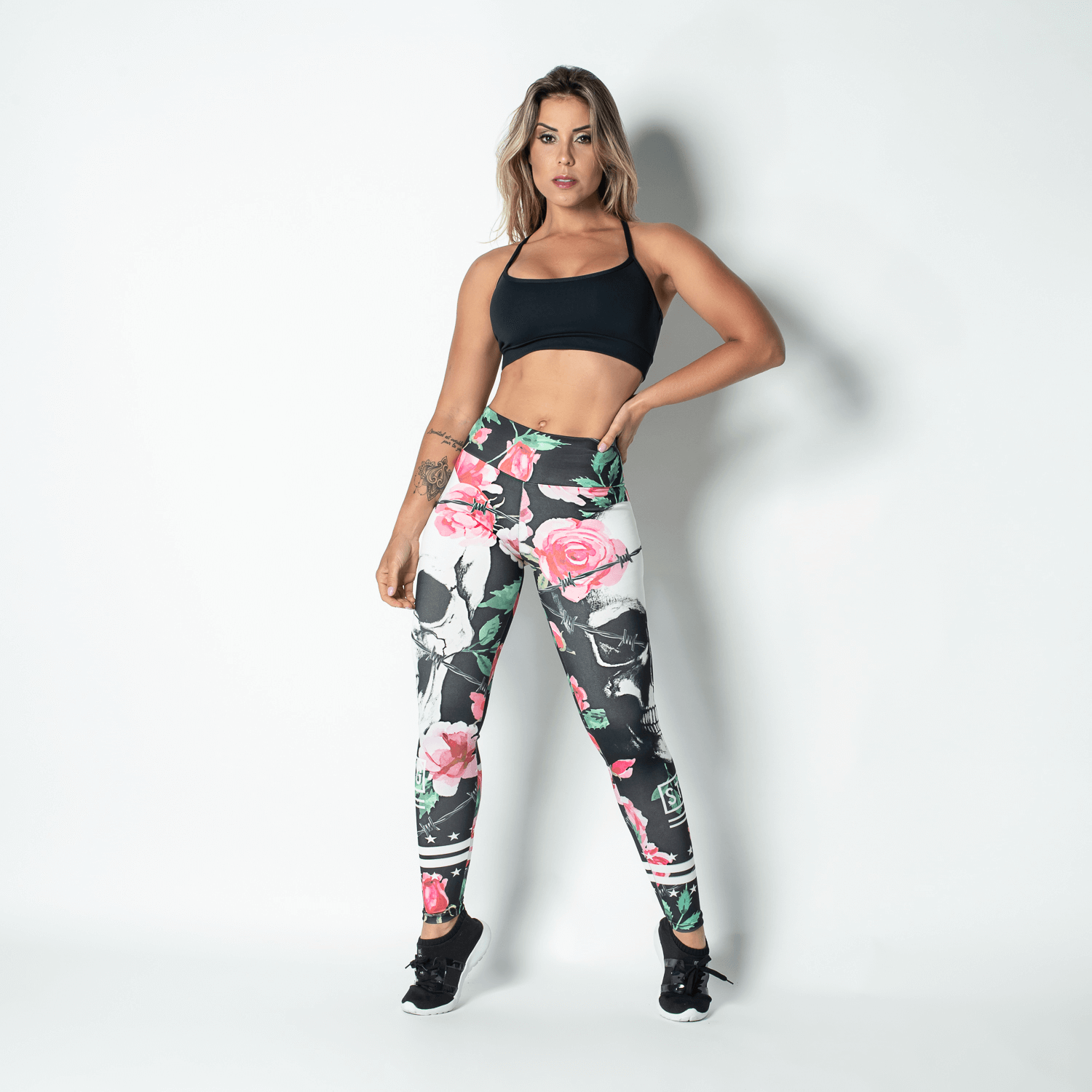 Women's Brazilian-Style Graphic Print Leggings #LG922