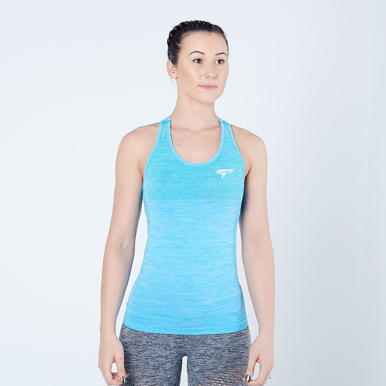 Women's Physiq Apparel - HyperKnit Tank Top - Aqua