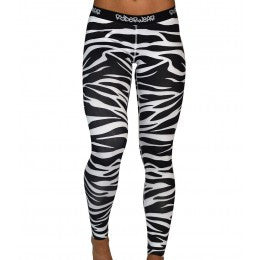 Ryderwear - Animal Instincts Tights - Zebra Print