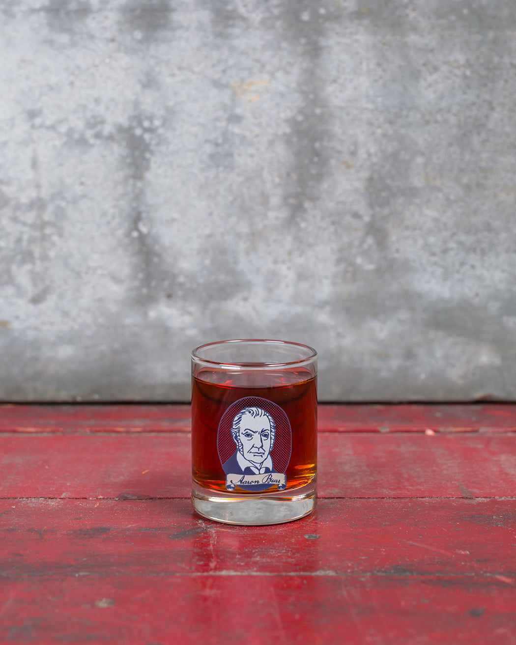 Aaron Burr Shot Glass - Fishs Eddy