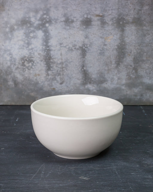 Diner White Cereal Bowl