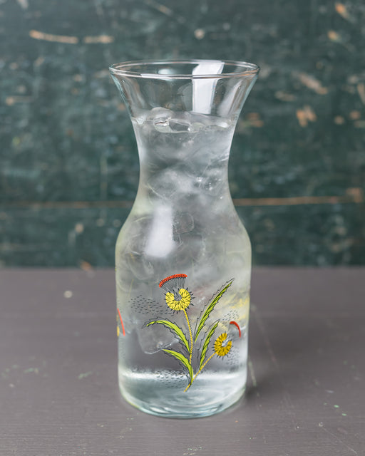 Deco Thistle Decanter