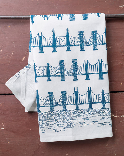 Bridge & Tunnel Dish Towel