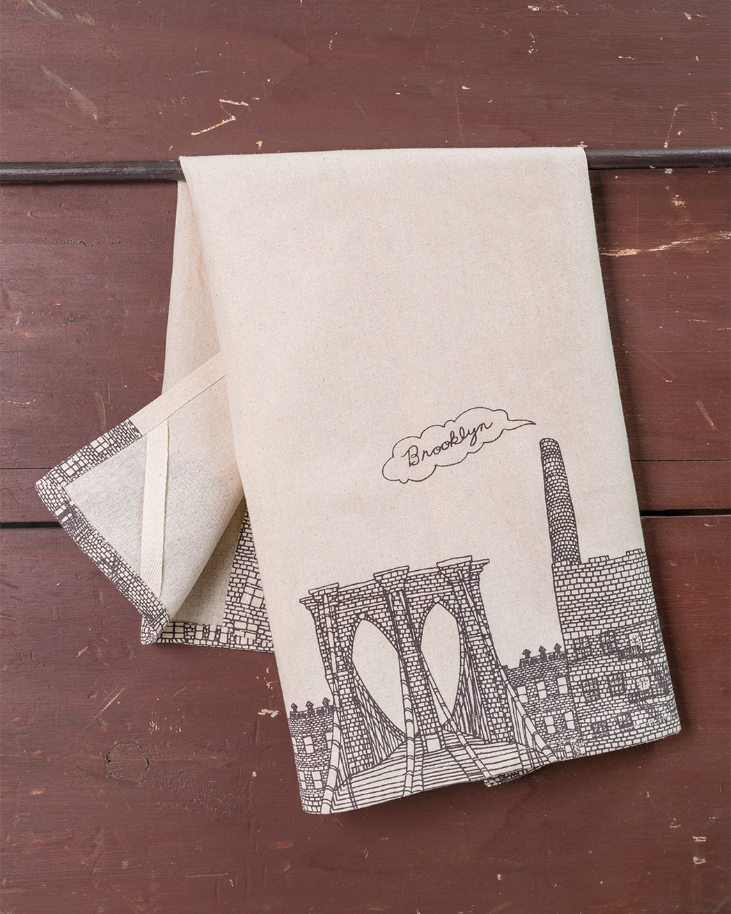 Brooklyn Dish Towel - Fishs Eddy