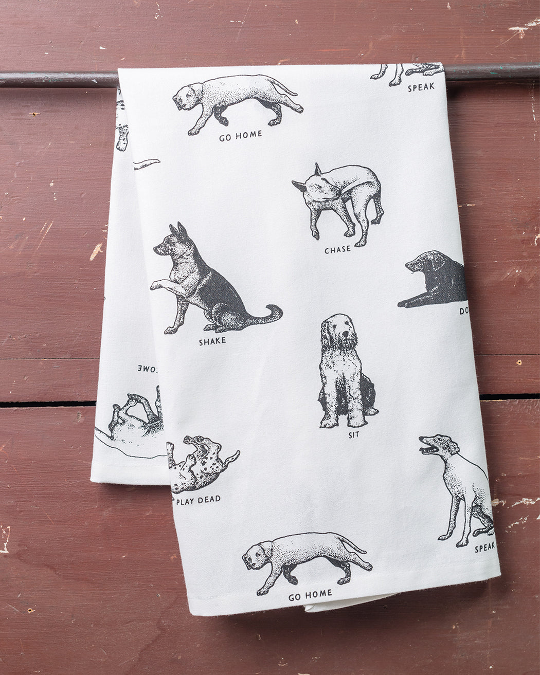 Dogs Dish Towel - Fishs Eddy