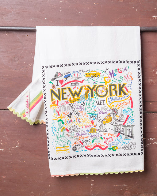 New York City Souvenir Dish Towel