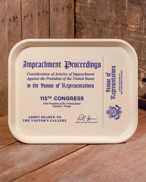 Impeachment Tray