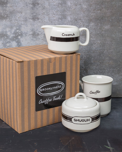 """Cawffee"" Coffee Set Gift Box"