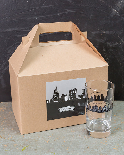 212 Glasses Gift Box - Set of 6 Glasses