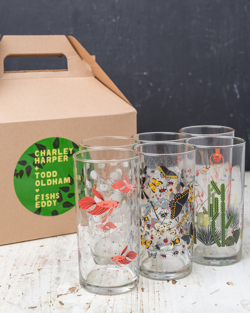 Harper + Oldham Wine Glasses Gift Box - Set of 6