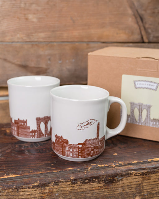 Brooklyn Mugs Gift Box - Set of 2