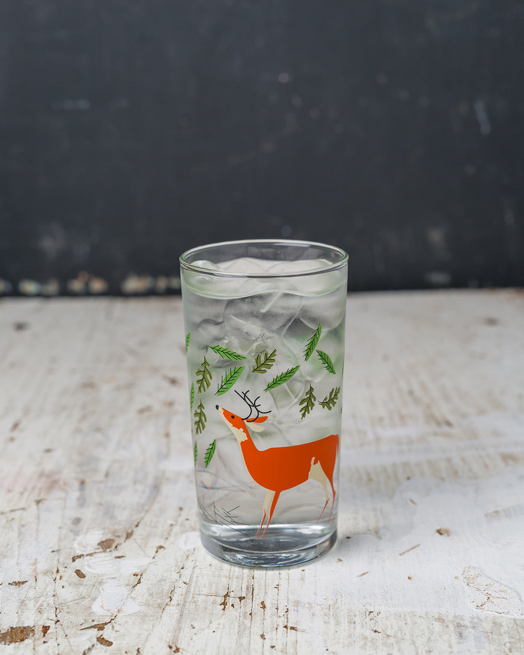 Deer & Fox Glass - Fishs Eddy