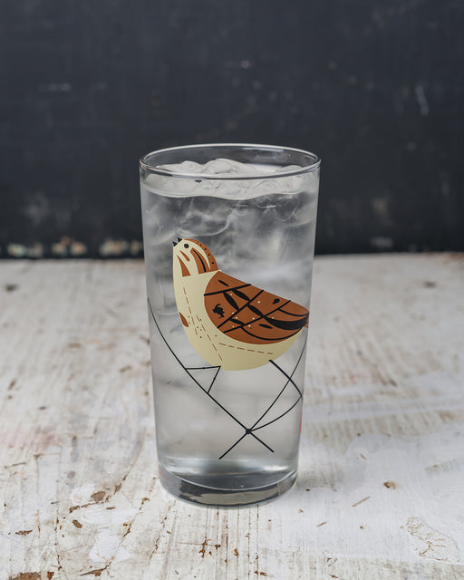Song Sparrow Glass
